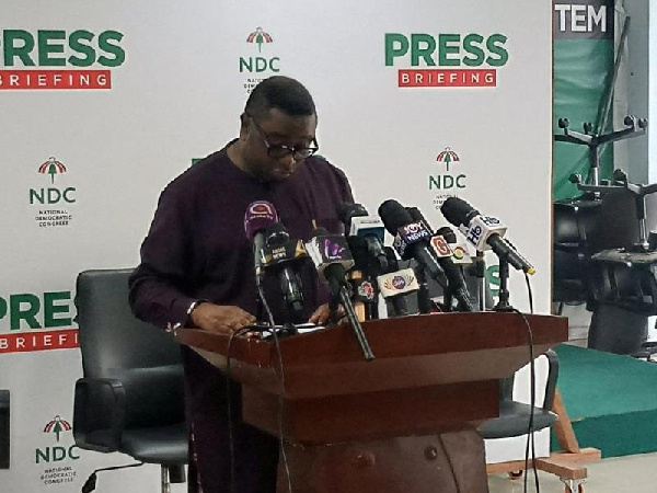 NDC advises Electoral Commission to be diligent