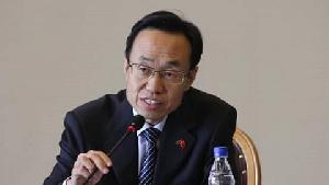Chinese Ambassador to Ghana, Shi Ting Wang