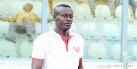 Interim coach of Kumasi Asante Kotoko, Michael Osei