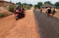 Effiduase-Tetekaso road