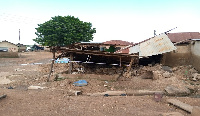 Several properties have been destroyed by the floods