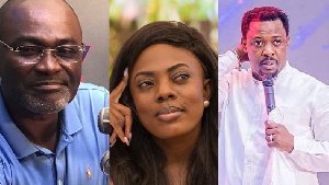Nigel Gaisie wanted to have an affair with Nana Aba through ...