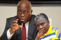Prophet Kwateng and President Akufo-Addo