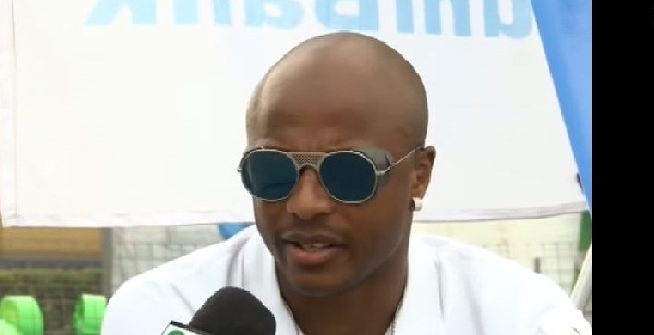 Andre Ayew is the deputy Black Stars captain