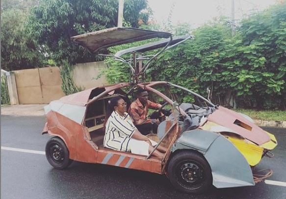 It took me three years to build my car - JHS graduate narrates