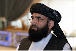 Taliban spokesman Suhail Shaheen who is also a member of the group's negotiating team