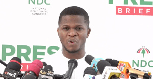 Sammy Gyamfi has accused the NDC MPs of going against the party's wishes