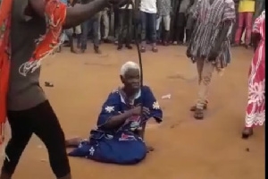 The 90-year-old woman was beaten to death after being labelled a witch