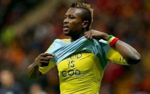 Ghanaian winger, Patrick Twumasi