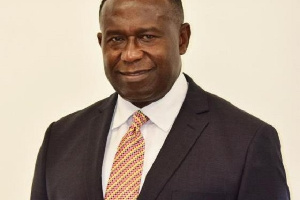 Joe Mensah, Senior Vice President & Head of the Ghana Business Unit for Kosmos Energy