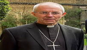 Archbishop of Canterbury, the Most Revd. Justin Welby