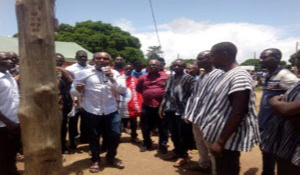 Extension of electricity to 16 communities in the Krachi East Constituency