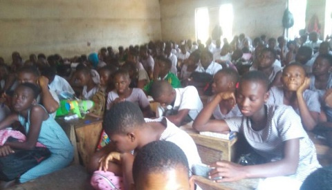 There is also limited classroom space to accommodate students of the Klo-Agogo SHS
