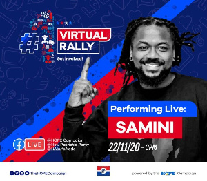 Samini is part of a number of speakers