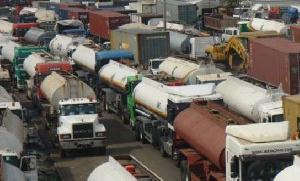 Petrol Tankers Cue
