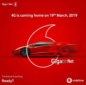 Vodafone are set to begin operating with 4G data for its customers
