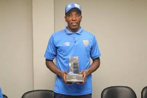 Hearts of Oak midfielder, Benjamin Afutu