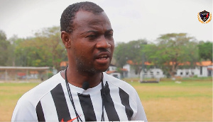 Legon Cities Assistant Coach, Wahid Mohammed