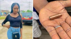 Police shooting victim Monsurat Ojuade plus di empty bullet casing