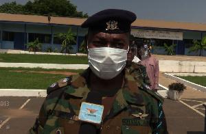 Headmaster of Armed Forces Senior High Technical school, Lieutenant Colonel Osman Zuneidu
