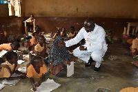 Bawumia visits Kperisi M.A