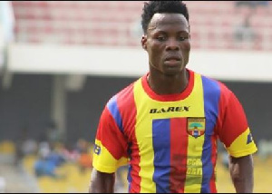 Samudeen Ibrahim, Hearts of Oak midfielder