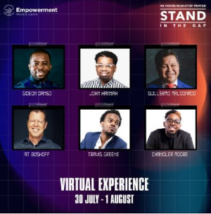 The event will see men, women of God across the globe speak via Zoom and other social media handle