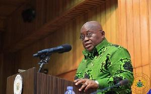 Nana Addo Dankwa Akufo-Addo , President of Ghana