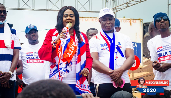 2020 polls: Take a look at our performance and vote for us - Oteng-Gyasi to constituents