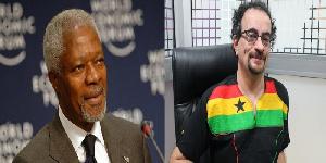 Jon Benjamin (R) described the late Kofi Annan's death as a huge loss to humanity
