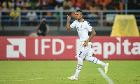 Jordan Ayew has become the highest goal scoring attacker for the BlackStars at the AFCON