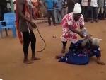Madam Akua Denteh was beaten to death