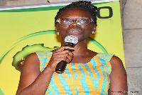 Executive Director of the dynamic African Coalition advocacy organization, Nancy Asirifi-Otchere