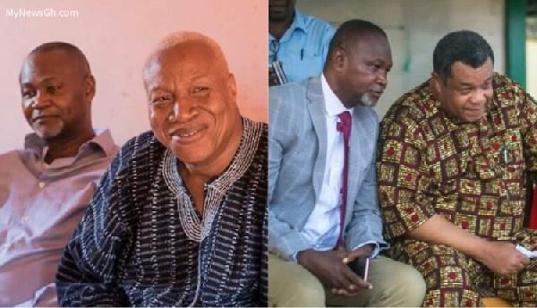 Namoale has denied endorsing Goosie Tanoh for the NDC flagbearership position