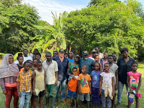 Tropenbos Ghana, EcoCare Ghana support Green Ghana Project with trees and fruit seedlings