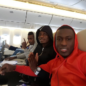 Waris, Wakaso and Boye jet off to Washington