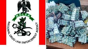 Nigeria arrest suspected drug lord wit 548,000 tablets of Tramadol dem label Tarkadol