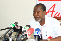 Chairman of PPP, Nii Allotey Brew-Hammond