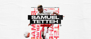 Ghana international Samuel Tetteh
