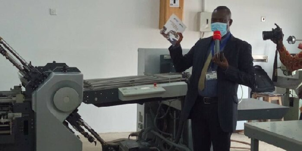 The official launch of the University of Ghana Printing Press