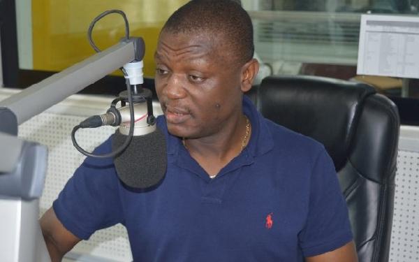 Kofi Adams, National Organiser of the NDC