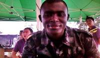 The deceased,Corporal Bernard Antwi.