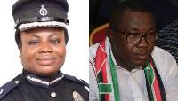 CID Boss Tiwaa Addo-Danquah and NDC National Chairman Ofosu Ampofo