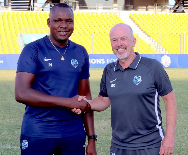 German coach Rainer Kraft begins work to put Ghanaian side Accra Lions in top shape