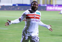 The Ghanaian forward has scored two goals in six games