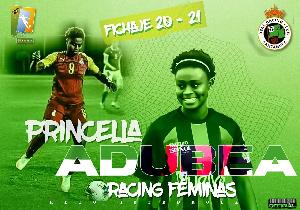 Princella Adubea Racing