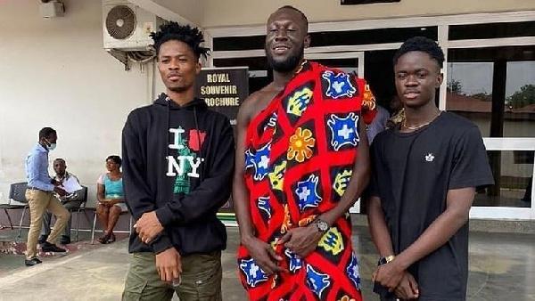 Musicians, Kwesi-arthur, Stormzy and  Yaw Tog
