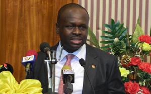 Dr Edward Omane Baomah, Minister of Communications