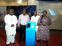 The Tecno Phantom 8, latest flagship smartphone from Tecno mobile, launched in Accra.