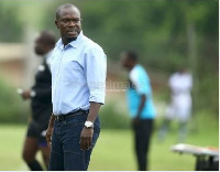 C.K. Akonnor, former Hearts of Oak and Dreams FC coach